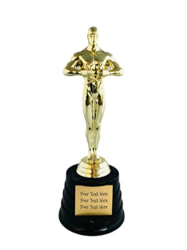 Trophy Crunch - Customized Body Builder and Fitness Trophies - Oscar Look-A-Like - Free Plate Engraving