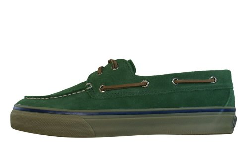 Sperry Top Sider Mens Bahama Tung Duk Mode Sneaker Dk Green