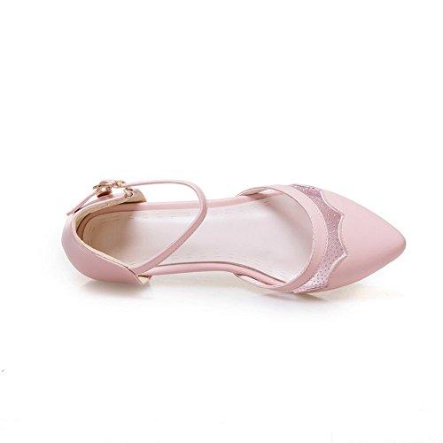 Compensées Rose AdeeSu Femme Sandales SLC04270 1ZwqXS