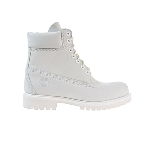 Timberland 6 Inch Waterproof Mens Boots Ghost White Waterbuck a1m6q (11 D(M) US)