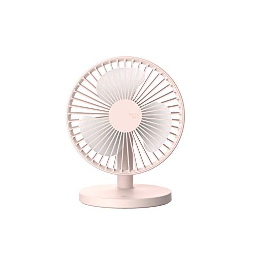 (USB Desk Fan, 7inch USB Power Fan Rechargeable Ultra-Quiet Third Gear Speed Mini Fan for Office Desktop)