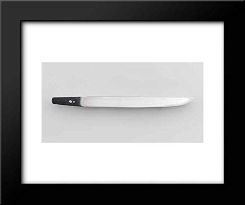 (UDA Kunimitsu - 18x15 Framed Museum Art Print- Blade and Mounting for a Dagger (Tanto))