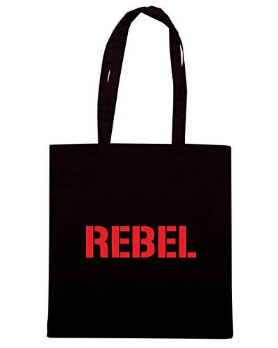 Borsa Shopper Nera OLDENG00618 REBEL