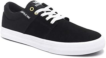 [スープラ] SHOES シューズ スニーカー STACKS VULC 2 黒/黒/白 08029-044 スケートボード スケボー SKATEBOARD