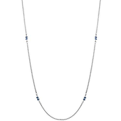 Di MODOLO Diamante London Blue Topaz 42'' Necklace in Sterling Silver by Di MODOLO MILANO