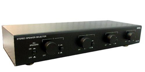 UPC 018359181264, Sima SSW-L4EX Speaker Selector for 4 Sets of Speakers