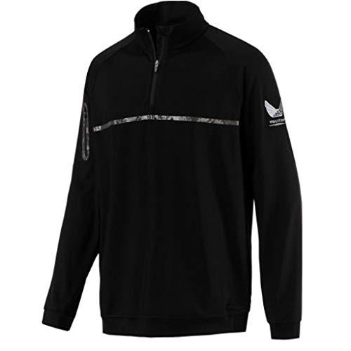 PUMA Volition Noonan 1/4 Zip Golf Pullover Black XX-Large ()