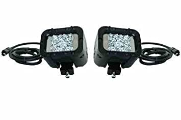 Low Profile Infrared LED Military Driving Lights - PWM High/Low Beams - 9-  sc 1 st  Amazon.com & Amazon.com: Low Profile Infrared LED Military Driving Lights - PWM ...