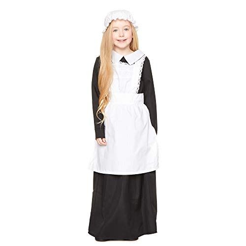 Girl's Victorian Girl Costume, for Halloween Costume Party Accessory, Small