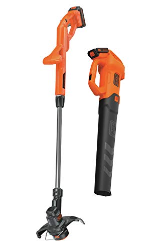 BLACK+DECKER BCK279D2 20V MAXAxial Leaf Blower and String Trimmer Combo Kit ()