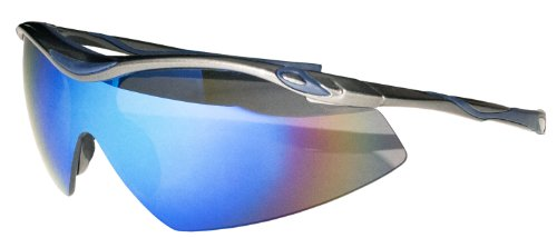 JiMarti Sunglasses TR22 Sport Wrap TR90 Unbreakable (Gunmetal grey & - Volleyball Sunglasses