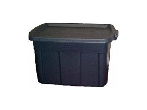Rubbermaid Rough Neck Tote, 25-Gallon Rubbermaid INC 2245-CP-DIM