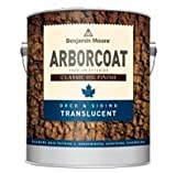 Benjamin Moore's Arborcoat Classic Oil Deck and Siding Translucent #326-10 Natural 1 Gallon