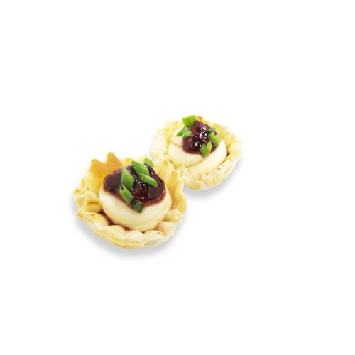 Van Lang Foods Baked Brie & Raspberry Bite Appetizer - 0.5 oz (200 Count)