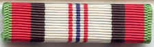 US Army Medals Afghanistan Campaign Medal Ribbon