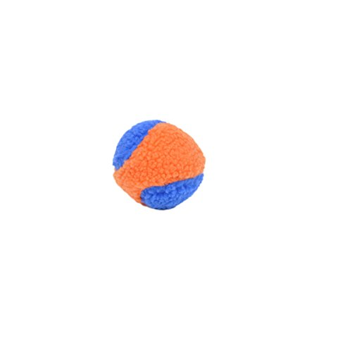 Coastal Pet Products Rascals Fleece Ball Squeaky Dog Toy, 4