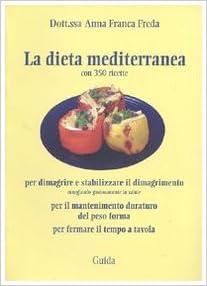 perdere peso con ricette dietetiche mediterranee