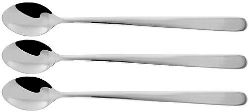 Fackelmann 41421 3 Langstiellöffel, 19 cm
