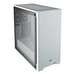 "Corsair Carbide 275R Midi-Tower Blanco gabinete de computadora - Caja de ordenador (Midi-Tower,PC,Acero, Vidrio templado, ATX,Micro-ATX,Mini-ITX, Blanco, Juego)"""