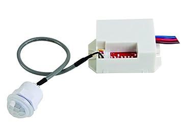 Velleman PIR415 detector de movimiento Alámbrico Blanco - Sensor de movimiento (Alámbrico, 190-