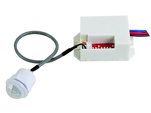 Velleman PIR415 Mini PIR Motion Detector, 230 VAC, Multi-Colour