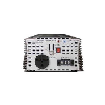 AIMS Power 7000 Watt 48 VDC to 240 VAC Industrial Power Inverter: Automotive