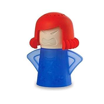 Amazon.com: Angry Mama limpiador de microondas, se limpia ...