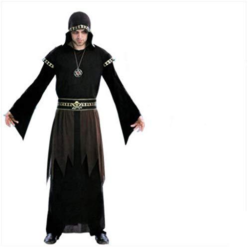DXXMD Disfraz de Halloween Adulto Hombre Vampiro Pirata Capitán ...