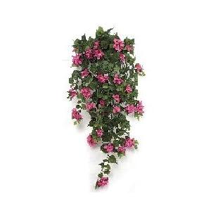 "Silk Flower Arrangements 42"" Bougainvillea Bush - Fuchsia | Indoor"