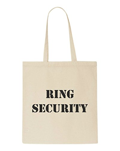 Bag Security Tote Ring Engagement Beige Wedding Gift Party Shopper qpnYF6Afx