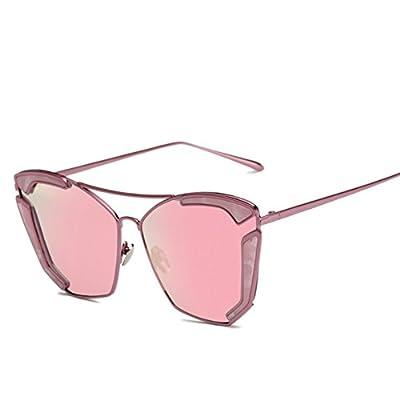 SG10906 PC Lens Fashion Metal Frames Sunglasses