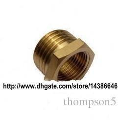 1 Lot of 10PCS Bathroom Brass Hex Nipple Pipe Reducing Bush 1/2