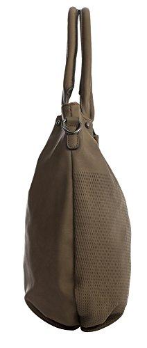 Shopper Dark Handbag Bag Size Handle Womens Vegan Large Tote Leather Grey 3 Shoulder Shop Design Top Big FZxwZ