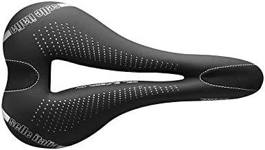 Selle Italia - Sillìn Bicicleta de Carretera Diva Gel Superflow, Rail TI 316 Tubo Ø7, Sillìn Road Gran Turismo Fibra-tek, Comfort Gel, Amortiguador