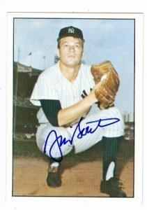 Autographed Jim Bouton Baseball - card 1978 TCMA #77 - Autographed Baseball Cards ()