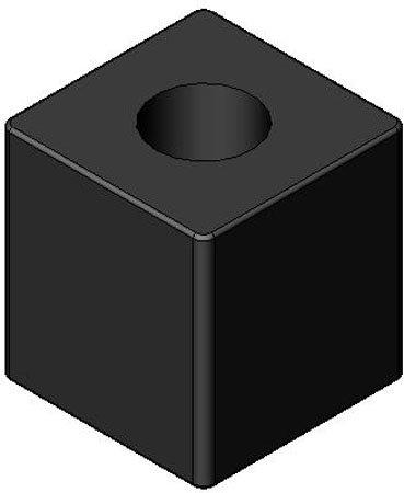 [해외]범퍼, 사각 및 직사각형, 네오프렌 전용, 경도계 = 80A (각 1 개)/Bumper, Square and Rectangle, Neoprene Only, Durometer=80A (1 Each)