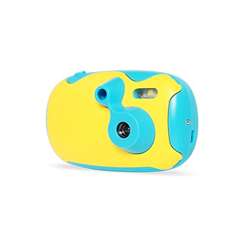 AMKOV DF-01 1.44 inch Screen Toy Camera for Kids, Blue