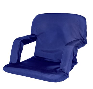 Cascade Mountain Tech Portable Reclining Seat (Royal Blue)