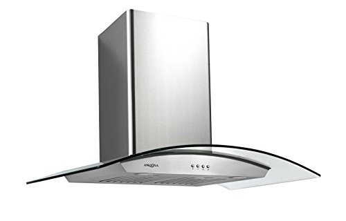 microwave oven above stove - 7