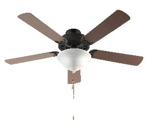 Trans Globe Imports F-1000 ROB Transitional 52``Ceiling Fan from Solana Collection Dark Finish, 52.00 inches, Rubbed Oil Bronze