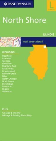 Folded Map-North Shore by Rand McNally - Shore North Mall Shopping