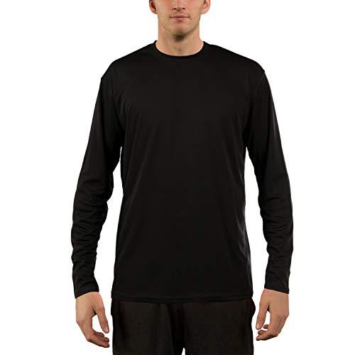 Apparel Performance Vapor - Vapor Apparel Men's UPF 50+ UV Sun Protection Performance Long Sleeve T-Shirt X-Large Black