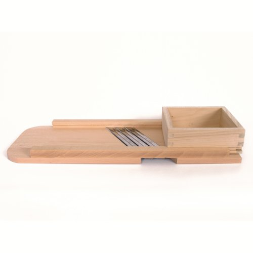 Wood Cabbage Shredder - Slaw Board - Large by Stone Creek Trading