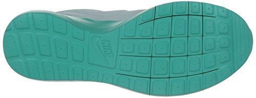 Nike Roshe NM Flyknit Prm, Scarpe da Corsa Uomo Grigio / Blu (Pure Platinum/Pr Pltnm-clyps)