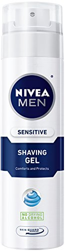 Nivea For Men Sensitive Gel для бритья, 7-Унция канистра