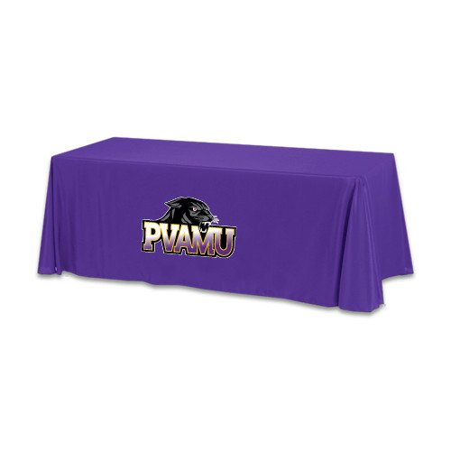 Prairie View A&M Purple 6 foot Table Throw 'Official Logo' by CollegeFanGear