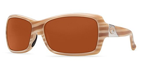 4bf2205cdfac Image Unavailable. Image not available for. Color: Costa Del Mar Sunglasses  - Islamorada- Plastic / Frame: Morena Lens: Polarized Copper