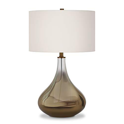 (Henn&Hart TL0027 Glass Ombre Lamp One Size Brass)