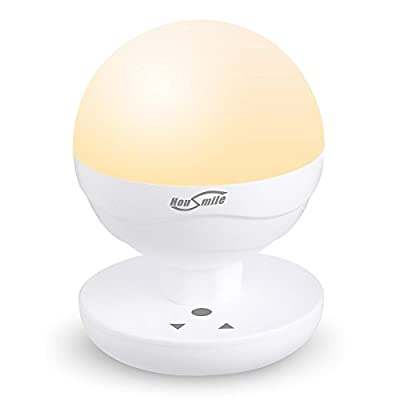Housmile Night Lights for Kids, Baby Night Light, Bedside Lamp for Breastfeeding, ABS+PP, Touch Control