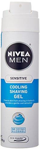 - Nivea For Men Sensitive Cooling Shaving Gel - 7 oz
